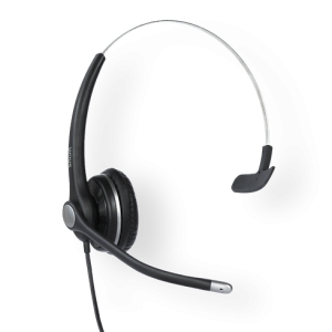 Snom Headset A100M - Wideband Monaural Headset, noise cancelling, for D3xx, D7xx series phones