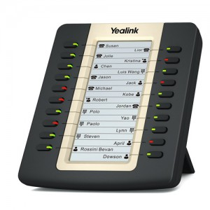 Yealink EXP20 Expansion Module - 20 programmable keys (max 6 modules per phone) for T27P, T29G