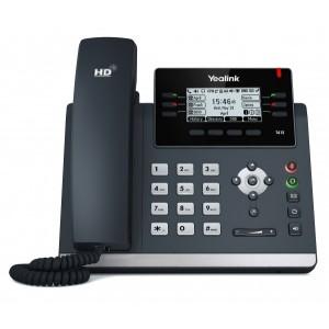 Yealink T41S - Executive IP Phone, 3 Voip Accounts, 2 x RJ45, HD Voice, POE, no PSU