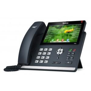 Yealink T48S - Gigabit Executive Colour Screen IP Phone, 6 Voip Accounts, 2 x RJ45, HD Voice, POE, no PSU