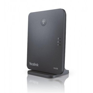 Yealink Dect W60B - Dect Solution Base  - 8 handset registrations with 8 concurrent Voip calls