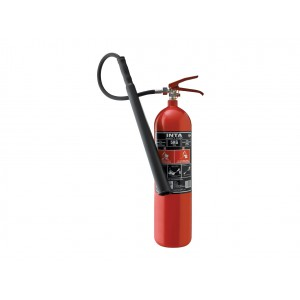INTASAFETY 5 Kg CO2 Fire Extinguisher (Steel Alloy)