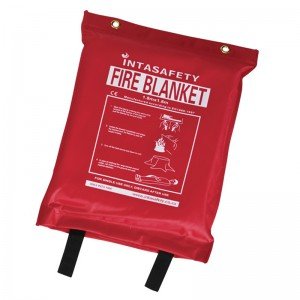 INTASAFETY 1.8 x 1.8m Fire Blanket
