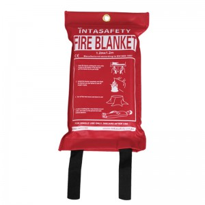 INTASAFETY 1.2 x 1.2m Fire Blanket