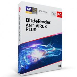 Bitdefender Antivirus Plus 2019 - Protection Against Threats on Windows PCs - 2 Device 1 Year (ESD)