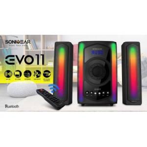SonicGear EVO 11 PRO BTMI 2.1 Bluetooth Speakers