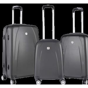 Travelwize Stratus ABS 3 Piece Set - Dark Grey