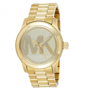 Michael Kors Women's Runway Analogue Quartz Watch - Gold