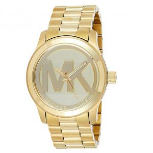 Michael Kors Women's Runway Analogue Quartz Watch - Gold