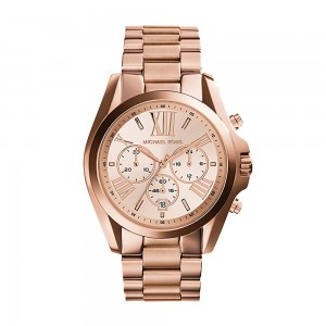 Michael Kors Men's Bradshaw Chronograph Stainless Steel Quartz Watch - RoseGold