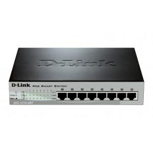 Dlink DES-1210-08P 8 Port 10/100 Power Over Ethernet (PoE) Network Switch