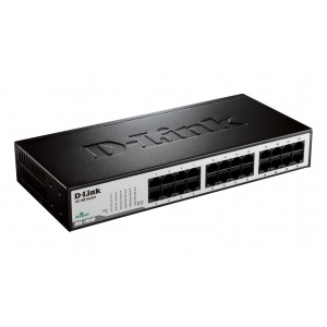 -Link DES-1024D Unmanaged 24-Port Desktop/Rackmountable Switch