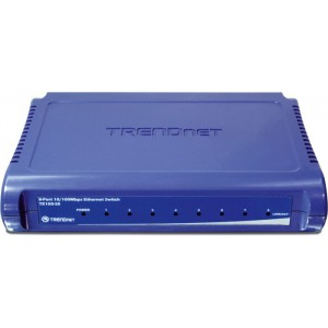 TRENDnet TE100-S8 Unmanaged Fast Ethernet Switch