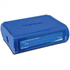 TRENDnet 5-Port 10/100 Mbps Fast Ethernet Switch