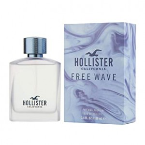 HOLLISTER - FREE WAVE FOR HIM  - EDT 100ML