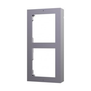 Hikvision 2 Module Gate Station Frame - Surface Mount