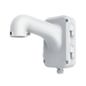 Hikvision PTZ Wall Mount Bracket - White with Junction Box