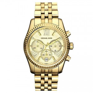 Michael Kors Women's Lexington Gold-Tone Stainless Steel