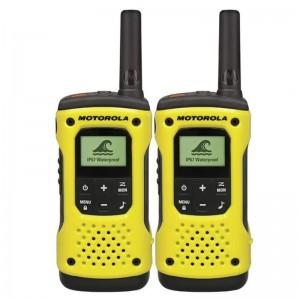 Motorola Talkabout T92 H2O Walkie Talkie 2 Way Radio - 2 Pack