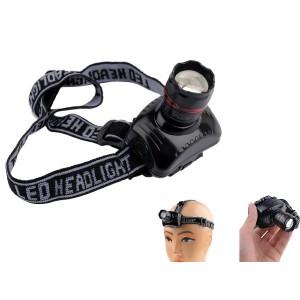 Super Bright LED Zoom Headlamp - Lightweight