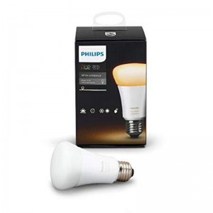 Philips Hue White Ambiance A19 10w Dimmable LED Smart Bulb - Compatible with Alexa, Apple HomeKit and Google Assistant