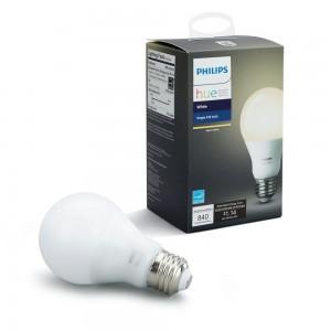 Philips Hue Warm White Wireless LED A19 Light Bulb 9.5W 840LM  E26 (Works with Alexa, Google Assistant, HomeKit)