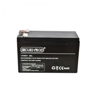 Securi-Prod Sealed Lead Acid (SLA) Battery 12V 8.0AH High Rate AGM