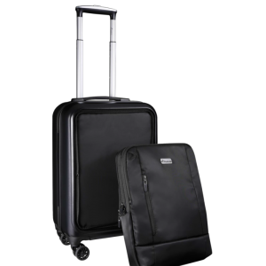 Travelwize Mark Detachable PC Upright Trolley 20 inch - Black