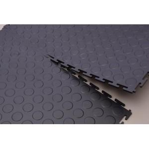 Interlocking Tiles - Black 1sqm