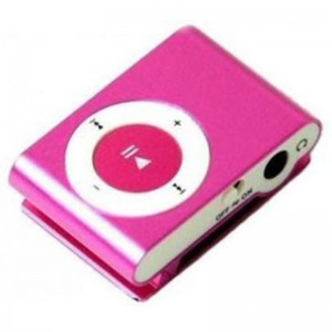 Pocket MP3 Player With Back Clip - Uses Micro SD