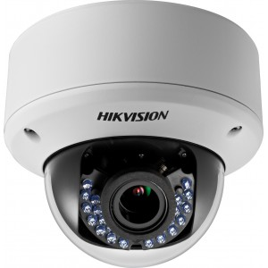"Hikvision HD 720p Turbo Vari-focal 40M IR Dome Camera, 1/3"" CMOS"