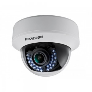 "Hikvision HD 1080p Turbo V/focal 40M IR Vandal-proof Dome Camera, 1/3"" Progressive Scan CMOS"