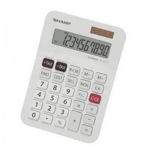 Sharp  EL-331FB  Business Pocket Calculator -White