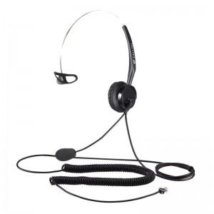 Calltel T400 Mono-Ear Noise-Cancelling Headset - RJ9 Reverse