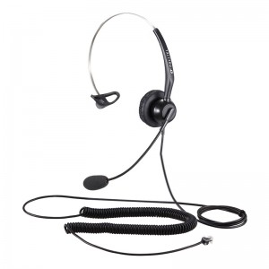 Calltel T800 Mono-Ear Noise-Cancelling Headset - RJ9 Standard