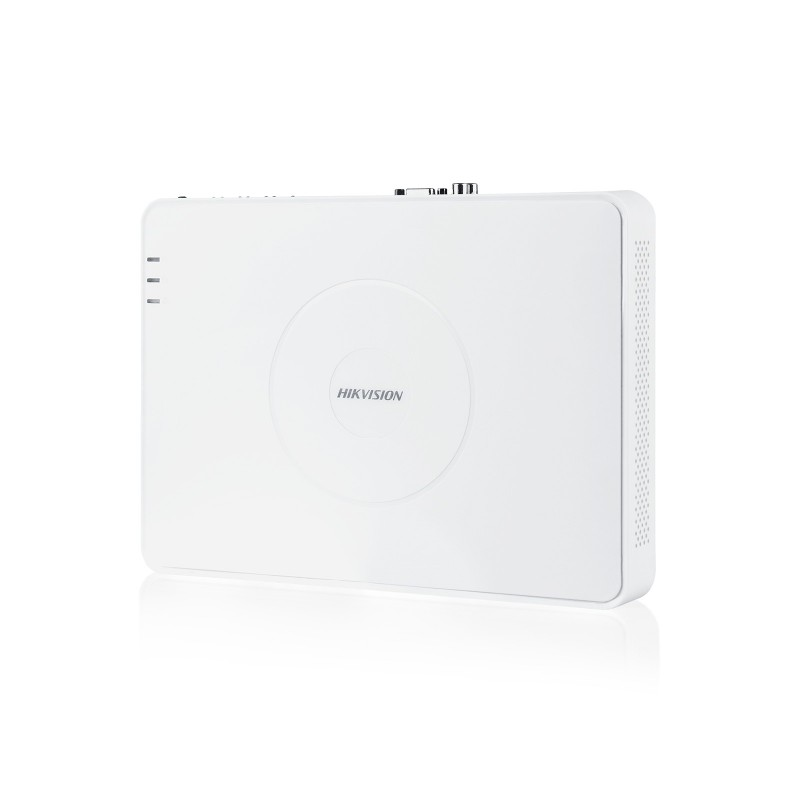 Hikvision 16-Channel Embedded Mini-NVR. 100Mbps Bit Rate Input Max (up to 16-ch IP video)