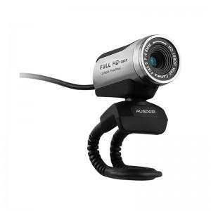 Ausdom AW615 1080P Streaming Web Camera - Black