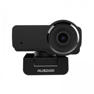 Ausdom AW635 1080P 12MP PC Web Camera - Black