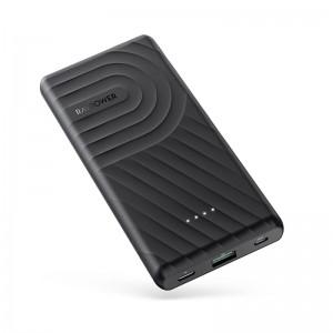 RAVPower 10000mAh 1x USB 1x Type-C PD18W/QC3.0 Power Bank - Black