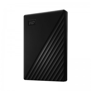 "Western Digital 2TB 2.5"" My Passport Black Slim USB 3.0 Powered Portable Drive"
