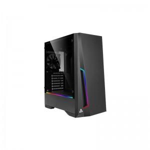 Antec DP501 ARGB LED Tempered Glass Side (GPU 360mm)ATX|Micro ATX|ITX Gaming Chassis - Black