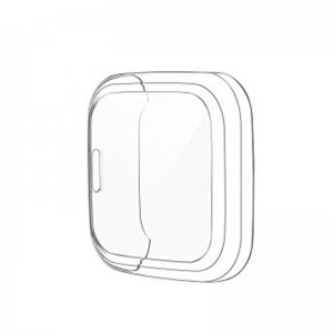 Fitbit Versa 2 Bumper Protective Case and Screen Protector