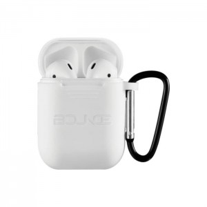 Bounce Buds Series True Wireless Earphones with Silicone Accessories - White