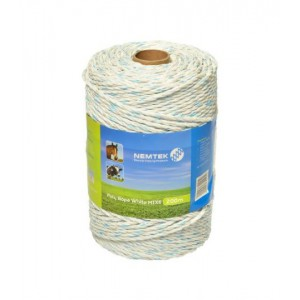 Nemtek Poly Rope - White MIX6 - 200m