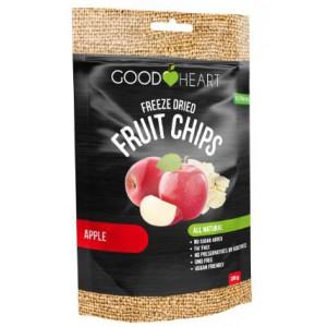 Good Heart Freeze Dried Fruit Chips - Apple Unit