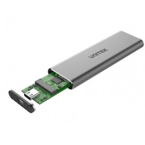 Unitek USB3.1 Gen2 Type-C to M.2 SSD (PCIe/NVMe) Enclosure