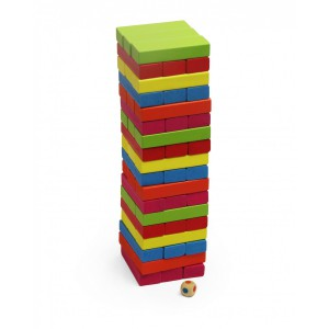 Jeronimo Wooden Stacking Game - Multicolour