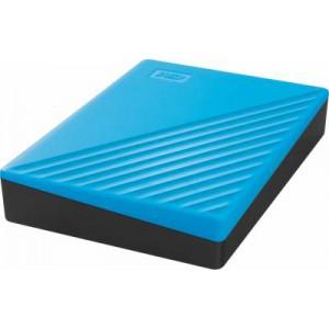 "Western Digital 2TB 2.5"" My Passport Blue Slim USB 3.0 Powered Portable Drive"