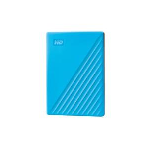 "Western Digital 4TB 2.5"" My Passport Blue Slim USB 3.0 Powered Portable Drive"