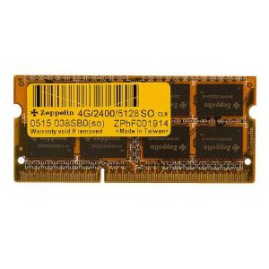 Zeppelin DDR4 4GB SO PC2400 512X8 Laptop Memory
